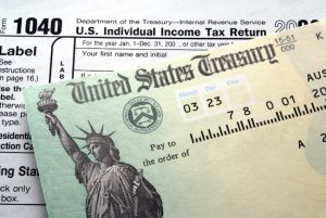 Sample U.S. Individual Income Tax Return 1040