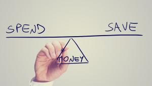 Graphic - Spend - Save - Money